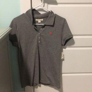 aeropostale button up t-shirt